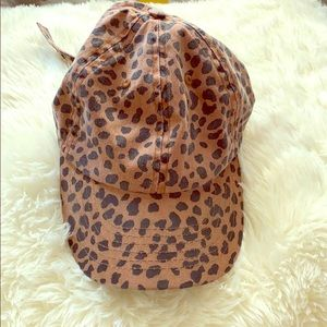 Urban Outfitters Leopard Hat